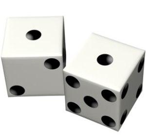 calculo de probabilidades dados Información, probabilidad, bits, el juego de las preguntas y las entropías.
