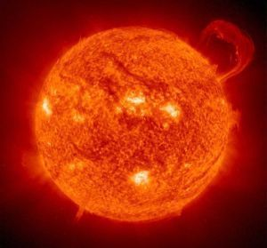 El origen de las manchas solares