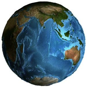La Tierra disminuye continuamente su volumen