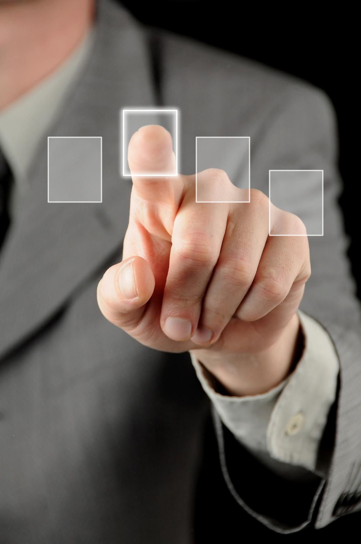 Las pantallas táctiles son muy utilizadas en los teléfonos de ultima generación