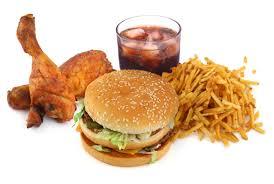 imagenes de la comida chatarra y saludable
