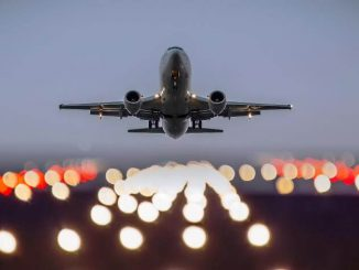 Despegue de aviones