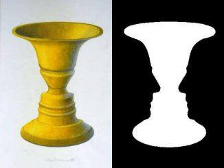 Ilusión óptica rostro-jarrón