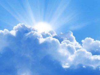 ¿Por qué no caen las nubes?