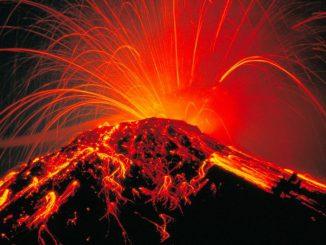Volcanes y el calentamiento global