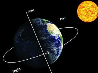 ¿Por qué se produce el movimiento de rotación de la Tierra?